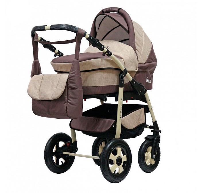 Детские коляски , Коляски 3 в 1 Bart-Plast Fenix Pcof 3 в 1 арт: 335580 -  Коляски 3 в 1
