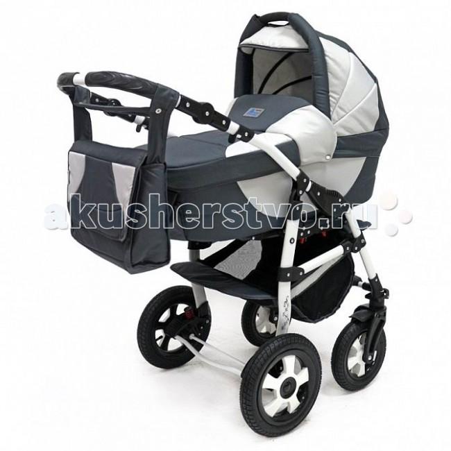 Коляска Bart-Plast Serenade PCO 2 в 1Serenade PCO 2 в 1Универсальная детская коляска Serenade 2в1 от Польского производителя BartPlast предназначена для детей с рождения и до 3-х лет. В комплект коляски входит спальная люлька для новорожденного и прогулочный блок для подросшего малыша, которые можно устанавливать по ходу движения или против хода движения. Люлька коляски комфортная и удобная, сделана внутри из 100 % хлопка. Дно люльки – жесткое, это очень важно для правильного формирования позвоночника новорожденного малыша. Прогулочное сидение легко устанавливается на раму, имеет пятиточечные ремни безопасности, съемный бампер, регулируемое положение спинки. Для удобства родителей предусмотрены регулировка высоты ручки, корзина для покупок и сумка для мамы.  Колеса надувные, камерные, с современной системой амортизации. Передние поворотные колеса с фиксатором делают эту модель коляски маневренной и легкоуправляемой. Задние колеса, обеспечивают хорошую проходимость и позволяют преодолевать любые препятствия по бездорожью на прогуле. Ширина колесной базы позволяет с легкостью входить в стандартные лифты и двери, что не вызовет трудностей с транспортировкой коляски.  Яркая расцветка коляски – порадует родителей и малыша. Рама коляски цветная – это выглядит эффектно!  Люлька: • Тканевая люлька с жестким дном • Регулируемый по высоте подголовник • Удобная ручка для переноски, расположенная на капюшоне • Бесшумный механизм регулировки капюшона • Внутренняя вкладка выполнена из 100% хлопка, легко снимается для стирки • Матрасик для новорожденного • Возможность установки люльки в 2 положениях (лицом к маме, или лицом по направлению движения коляски)  Размеры внутренние люльки: длина: 76 см. ширина: 35 см. высота: 20 см. вес: 4.53 кг.  Прогулочный блок: • Три положения регулировки спинки, в том числе до горизонтального • Регулируемая подножка • Регулируемый капюшон • Пятиточечные ремни безопасности с мягкими плечевыми накладками • Съемный бампер • Практичная накидка на ножки