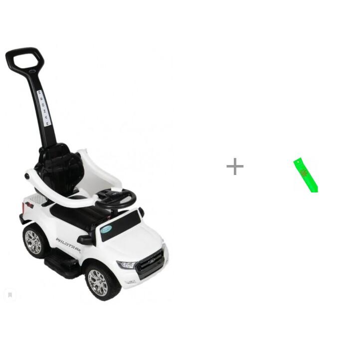 Купить Электромобили, Электромобиль Barty Каталка Ford Ranger DK-P01P белый и светоотражатель браслет Чудо-чадо