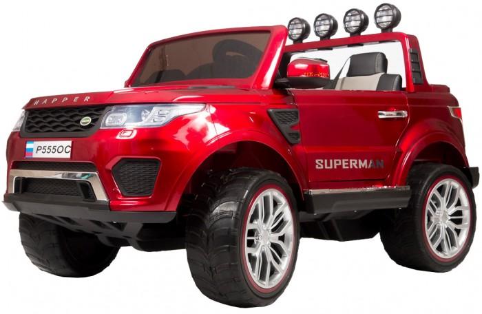 Электромобиль Barty Range Rover XMX601 (Happer)Range Rover XMX601 (Happer)Электромобиль Barty Range Rover XMX601 (Happer) для маленьких водителей от 3 лет.  Особенности: Полный привод                               4WD с функцией отключения переднего привода, при помощи переключателя  Колёса EVA (каучук) Поверхность-глянцевый Открываются; двери, капот, багажник                                                 Ремень безопасности Сиденье чехол экокожа                                Руль чехол экокожа Зажигание ключ Аккумулятор 2шт-12V7AH                   Двигатели 45Wх4 Пульт управления Bluetooth (2,4 G) USB вход, MP3, вход для карты SD  Амортизаторы на все колёса Ручка-чемодан для перевозки.<br>