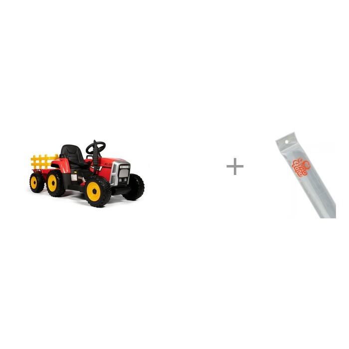 Купить Электромобили, Электромобиль Barty трактор с прицепом TR 77 и светоотражатель браслет Чудо-чадо