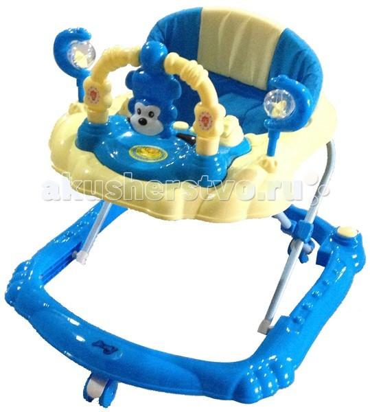 Ходунки Barty BL303BL303Ходунки Barty BL303 – простой и действенный способ научить ребенка самостоятельно ходить без усилий! Это простая и удобная конструкция предельно функциональная и надежная, а еще она предоставляет свободу ребенку, воспитывает в нем самостоятельность, помогает преодолеть страх делать самостоятельно шаги.  Особенности:  Выполнены из качественного пластика и алюминиевых профилей. Самоцентрирующиеся колесики на рамке внизу позволяют быстро реагировать на действия ребенка и гарантировать предельную маневренность. Barty BL303 ходунки имеют перед ребенком яркую и красочную игровую панель, которая позабавит кроху. Сидение мягкое, может мыться, если нужно. Ходунки легко регулируются по высоте, адаптируясь под рост крохи. В сложенном виде система занимает мало места.<br>