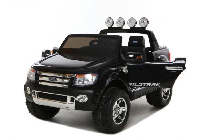 Электромобиль Barty Ford RangerFord RangerЭлектромобиль Barty Ford Ranger обязательно понравится вашему малышу и займет его внимание надолго. Повышенная проходимость, мощный двигатель и узнаваемый яркий дизайн внедорожника Ford.  Особенности: Амортизаторы (2 передних, 2 задних) Открываются двери и багажник Два мотора 2х35W/12V 3 скорости вперед: первая передача 3 км/ч, средняя 6 км/ч, и третья - 9 км/ч Световые и звуковые эффекты, горят фары, переключатель мелодий на руле МР3-вход, USD слот для карты памяти, колонки, регулятор громкости Радио-FM приемник Два сиденья с ремнями безопасности, ширина сидения 48 см Пульт дистанционного управления - Bluetooth 2.4G Колеса с резиновыми накладками, размер колес 30 см Колёса EVA с высоким протектором; чехол на сидение из эко-кожи; ручка для удобства во время транспортировки (по типу чемодана); пульт bluetooth; медленный набор скорости; USB вход для прослушивания музыки; ключи для зажигания; яркая глянцевая покраска кузова; открывающийся капот и багажник; аккумулятор 12W 10AH.<br>