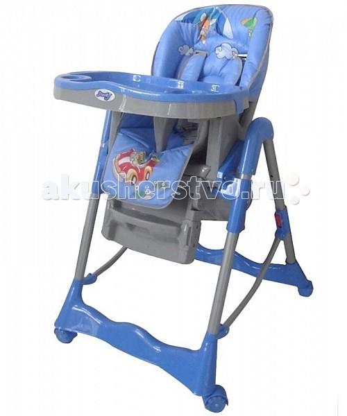 Стульчик для кормления Barty GI-7GI-7Стульчик для кормления Barty GI-7 специально разработан максимально простым и удобным для детей. Он легко складывается и раскладывается, материал легко моется,стульчик настраивается под вашего кроху.   Регулировать можно не только высоту кресла от пола, но и наклон спинки, высоту подножки и глубину столешницы.  Сама столешница оснащена съемным подносом, который можно мыть после каждого приема пищи. Оригинальный дизайн стульчика Barty будет приятен как родителям, так и малышам.  Силиконовые колеса облегчают процесс перемещения стульчика, не оставляя следов на полу. Стульчик компактно складывается и хорошо приспособлен для хранения и транспортировки.  Особенности: удобно складывается и раскладывается съемный двойной столик стул регулируется по высоте в трех положениях анатомическая вставка для разделения ног пятиточечные ремни безопасности, а также съемная защита от выпадения три позиции наклона сидения съемная подставка для ног задние колеса с тормозами силиконовые колеса корзина для игрушек<br>