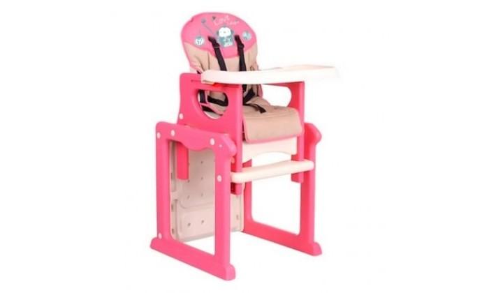 Стульчик для кормления Barty J-D001J-D001Стульчик для кормления Barty JD-001 – оригинальный стульчик для кормления, способный трансформироваться в стульчик с партой.   Отличное решение для Вашего малыша на переходный период. Можно использовать с полугода до 6 лет.  Спинка имеет три положения наклона, позволяя маме усадить ребенка максимально удобно.   Столешница также может фиксироваться в трех положениях по глубине. Ее, как и все матерчатые детали, можно легко снимать для чистки.  За безопасность крохи отвечают надежные 5-точечные ремни безопасности.  Основание стульчика выполнено таким образом, что он может прекрасно скользить по плитке и линолеуму.  Стульчик легко складывается и не занимает много места в собранном виде.<br>