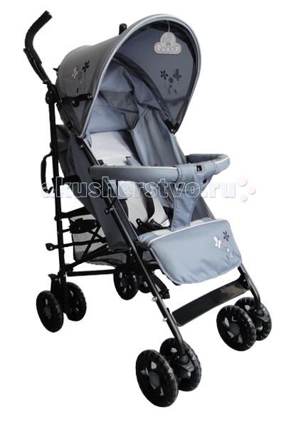 Коляска-трость Barty KGM-6109KGM-6109Коляска трость Barty KGM-6109 гарантирует комфорт и предельное удобство для родителей и малышей. Модель станет для Вас идеальным вариантом для прогулок на свежем воздухе и путешествий, за счет своей повышенной маневренности и легкости, а Ваш малыш будет чувствовать себя в ней удобно и комфортно. Коляска предназначена для деток от полугода и старше. А еще коляска разработана с учетом особенностей и потребностей мегаполиса.  Коляска выполнена из качественных материалов по современным технологиям, что гарантирует Barty KGM-6109 долговечность. Прочная металлическая рама установлена на резиновые сдвоенные колеса, при этом передняя пара поворотная с возможностью фиксации для классической езды. Такое решение позволило гарантировать модели отличную проходимость и маневренность.  Дизайн Barty KGM-6109 достаточно лаконичный, выдержанный. Сидение ребенка просторное, имеет регулируемую спинку. Ремни безопасности дополнены защитным бампером-перекладиной перед малышом и мягкой перемычкой между ножек.  Большой капюшон и боковые части защищают ребенка от непогоды. Есть дополнительно козырек для лучшей защиты от солнца. Подножка регулируется, а вместе со спинкой в раскрытом виде создают комфортное место для отдыха и сна. В сложенном виде коляска очень компактная.  Размеры: Ширина сидения - 34 см Глубина сидения - 19 см Длина спального места - 78 см Длина колесной базы - 53 см Угол наклона спинки: 170.<br>