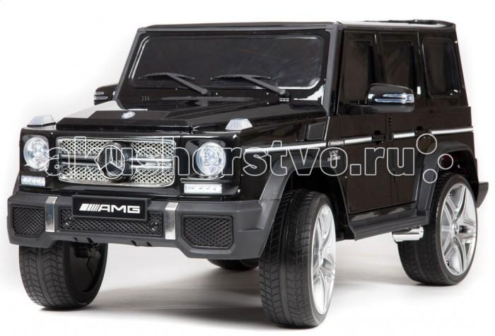 Электромобиль Barty Mercedes-Benz-G65-AMGMercedes-Benz-G65-AMGЭлектромобиль Barty Mercedes-Benz-G65-AMG с дистанционным управлением.  Особенности: Световые и звуковые эффекты Подсветка панели приборов, диодные огни фар Плавный ход Амортизаторы Пульт управления: индивидуальный (настраивается по Bluetooh) Колеса EVA Двери открываются Задний багажник открывается Заводится с кнопки 3 скорости вперед, одна назад   Сидение кожаное (эко-кожа) Ремень безопасности Индикатор заряда батареи USB-вход, вход для MP3, SD-вход, FM радио Аккумулятор: 12V7AH Ручка-чемодан для перевозки.<br>