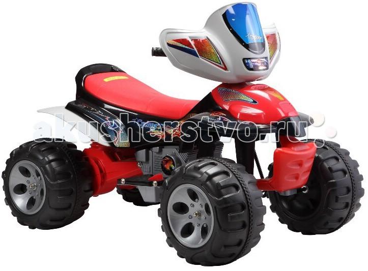 Электромобиль Barty SA-А22SA-А22Недорогой и оригинальный внешний вид. Очень привлекательная модель, устойчивая к любым неровностям. Педаль газ/тормоз расположена на подножке. Предназначен для детей от 3 до 8 лет. Защитный щиток для рук. Детский квадроцикл Barty SA-А22 (2М2В) обязательно порадует Вашего малыша.   Аккумулятор 2х6В/7Aч Два двигателя Вес 16 кг Время зарядки аккумулятора 6 - 8 часов Время работы на одном заряде 1.5 - 2 часа Габариты (д*ш*в) 125*70*84 см Зарядное устройство в комплекте Звуковые эффекты музыка, сигнал Колеса пластик c резиновой вставкой<br>