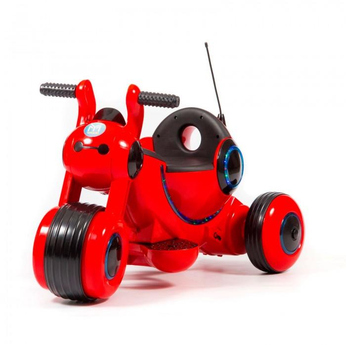 Электромобиль Barty Y-MAXI YM77Электромобили<br>Электромобиль Barty Y-MAXI YM77 - это первый самоходный транспорт вашего малыша. Он имеет стильный футуристичный дизайн, украшен яркими светодиодными огнями по всему корпусу. Для начала движения достаточно выбрать передачу с помощью кнопки и плавно нажать на педаль газа. Большие пластиковые колёса с резиновыми вставками пройдут любые преграды.  Особенности: одно посадочное место пластиковые колёса с резиновыми вставками управление педалью газа задний ход удобные ручки для держания прочная рама светодиодные огни колёса: ЕVA 2 аккумулятора 6 В/4,5 A/ч редуктор 15 В максимальная нагрузка: 30 кг мотор 18W.pbsp скорость до 4 км/ч сиденье: Пластик зажигание: переключатель звуковые и световые эффекты возрастная категория 2-5 лет.