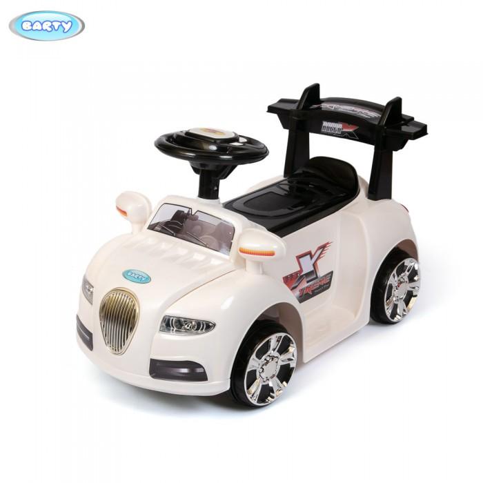 Электромобиль Barty ZPV-002ZPV-002Для самых маленьких водителей от 2 до 6 лет предлагается необычного дизайна электромобиль детский с пультом. Катаясь на машинке, малыш приобретает навыки вождения, улучшается координация движений. Ребенок становится более внимательным и самостоятельным.   Характеристика:  Габаритные размеры: длина - 65 см, ширина - 39 см, высота - 37 см. Мотор - 25W. Батарея аккумуляторная - 6V/4.5A, время зарядки - 8-12 часов, время работы - 1-2 часа. Скорость - 3 км/час. Движение - вперед/назад.  Музыка - 4 мелодии, звук - сигнал. Сиденье - одноместное. Дистанционный пульт управления. Нагрузка - 20 кг.<br>
