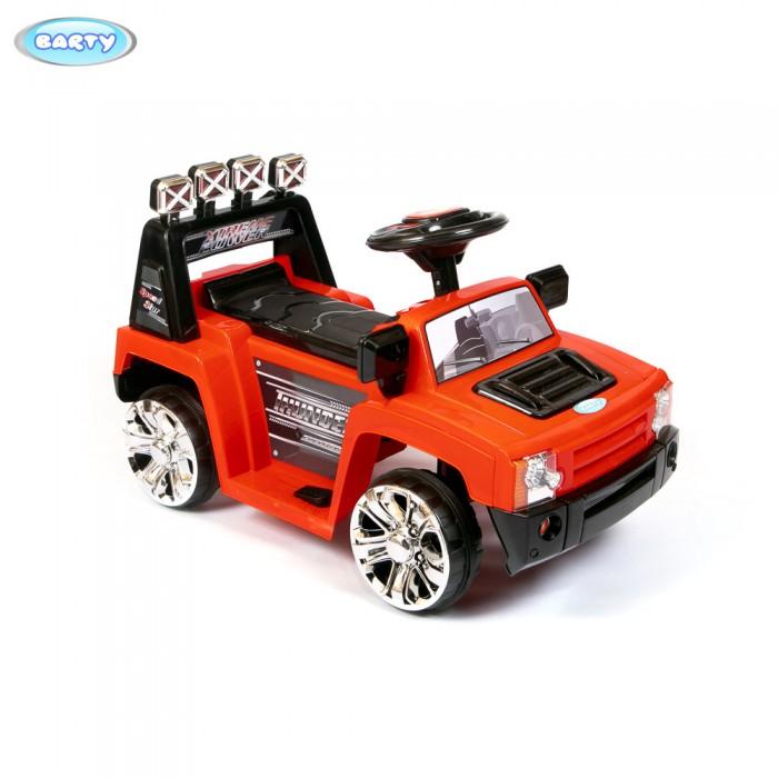 Электромобиль Barty ZPV-005ZPV-005Для самых маленьких водителей от 2 до 6 лет предлагается необычного дизайна электромобиль детский с пультом. Катаясь на машинке, малыш приобретает навыки вождения, улучшается координация движений. Ребенок становится более внимательным и самостоятельным.   Характеристика:  Габаритные размеры: длина - 74 см, ширина - 42 см, высота - 47 см. Мотор - 25W. Батарея аккумуляторная - 6V/4.5A, время зарядки - 8-12 часов, время работы - 1-2 часа. Скорость - 3 км/час. Движение - вперед/назад.  Во время движения светятся фары, звук мотора. Сиденье - одноместное. Дистанционный пульт управления. Нагрузка - 25 кг.  Вес 6.5 кг.<br>
