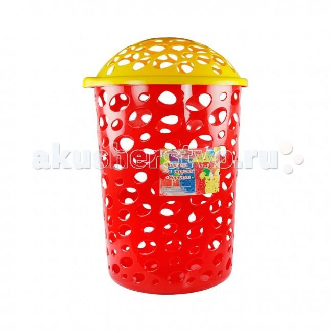 Ящики для игрушек Альтернатива (Башпласт) Корзина Соренто 45 л каталки альтернатива башпласт слонёнок