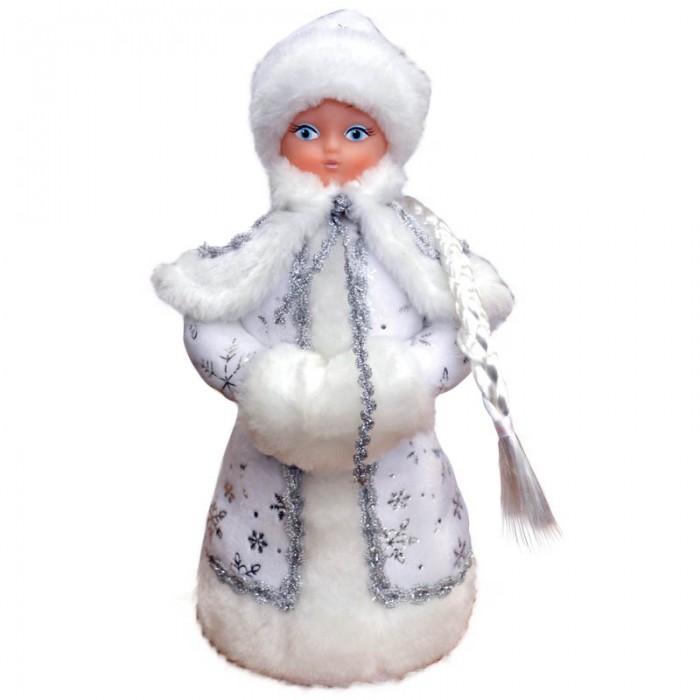 Новогодние украшения Батик Декоративная кукла Снегурочка под елку 35 см