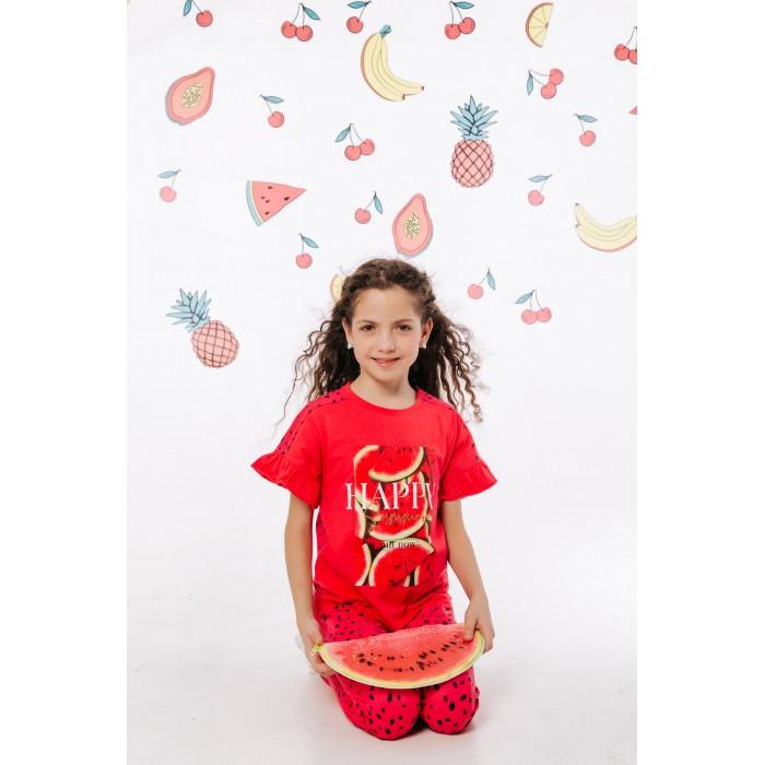 Batik Футболка для девочки Happy