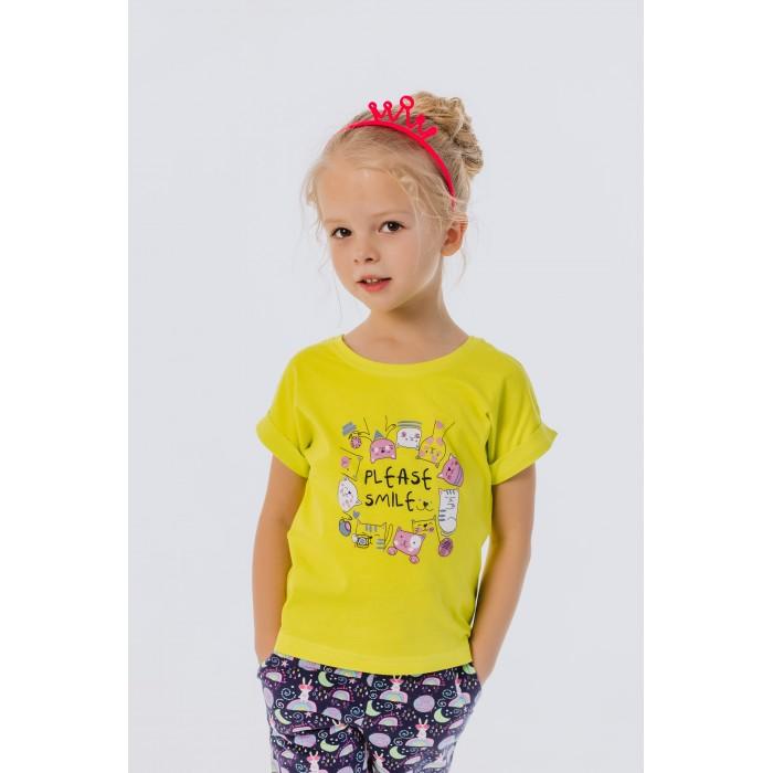 Футболки и топы Batik Футболка для девочки Please Smile batik футболка для девочки batik голубой 128