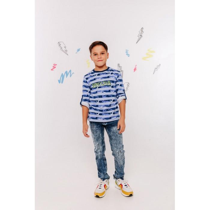Водолазки и лонгсливы Batik Футболка для мальчика Dinosaur 00839/00840