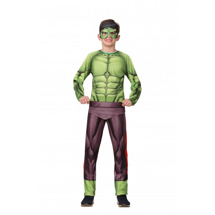 Купить Карнавальные костюмы, Батик Карнавальный костюм Халк (без мускулов) Мстители Марвел 1921