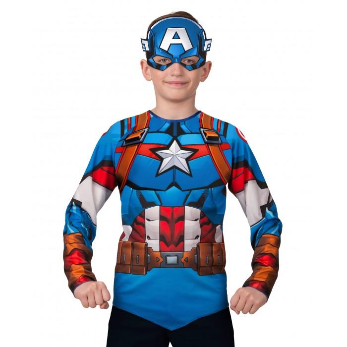 Картинка для Карнавальные костюмы Батик Карнавальный костюм Капитан Америка (без мускулов) Мстители Марвел 5853