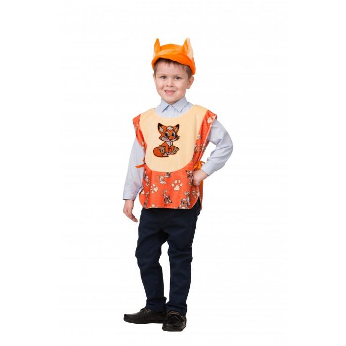 Карнавальные костюмы Батик Карнавальный костюм Лисенок Веселые зверята 2213 карнавальные костюмы батик карнавальный костюм снеговичок веселые зверята 2235