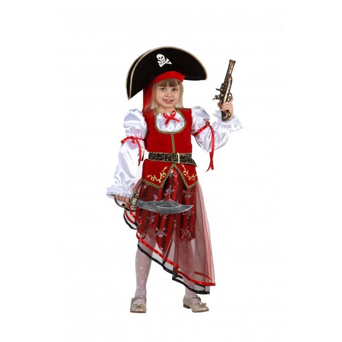 Картинка для Карнавальные костюмы Батик Карнавальный костюм Пиратка Карнавальная ночь 8022