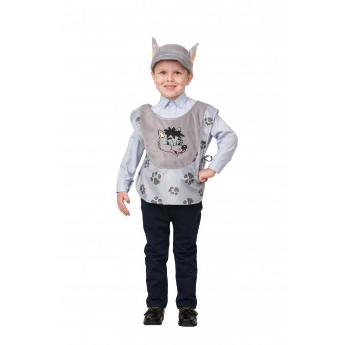 Карнавальные костюмы Батик Карнавальный костюм Волк Веселые зверята 2208 карнавальные костюмы батик карнавальный костюм снеговичок веселые зверята 2235