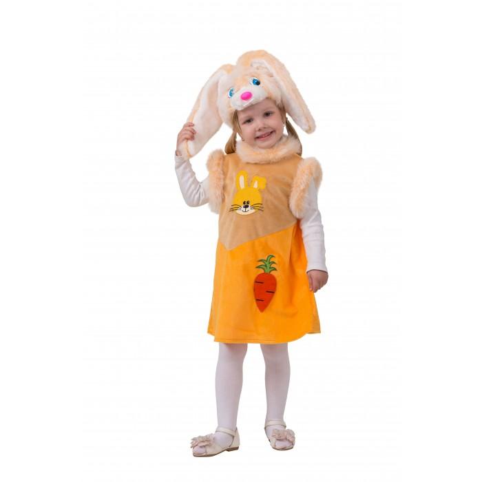 Картинка для Карнавальные костюмы Батик Карнавальный костюм Зайка Лакомка Плюшевая сказка 261