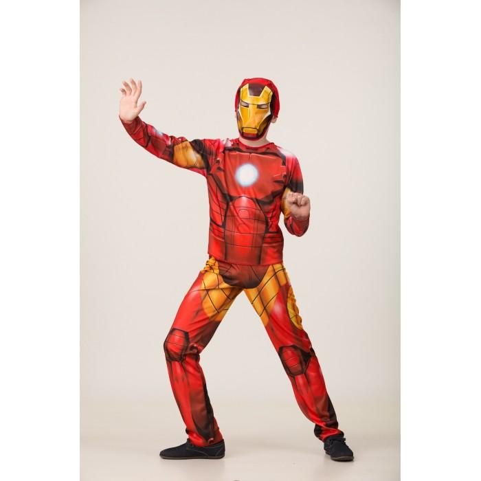 Карнавальные костюмы Батик Карнавальный костюм Железный человек (без мускулов) Мстители Марвел 1923 printio пес железный человек