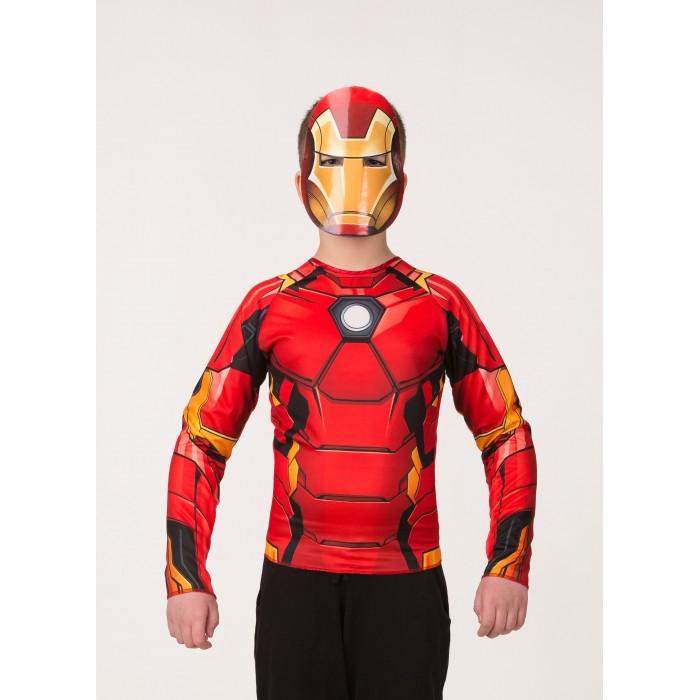 Карнавальные костюмы Батик Карнавальный костюм Железный человек (без мускулов) Мстители Марвел 5852 printio пес железный человек