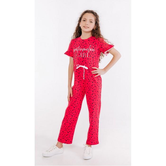 Брюки и джинсы Batik Комбинезон для девочки 01118_BAT комбинезон утепленный для девочки batik торопыжка цвет розовый 147 19з размер 86