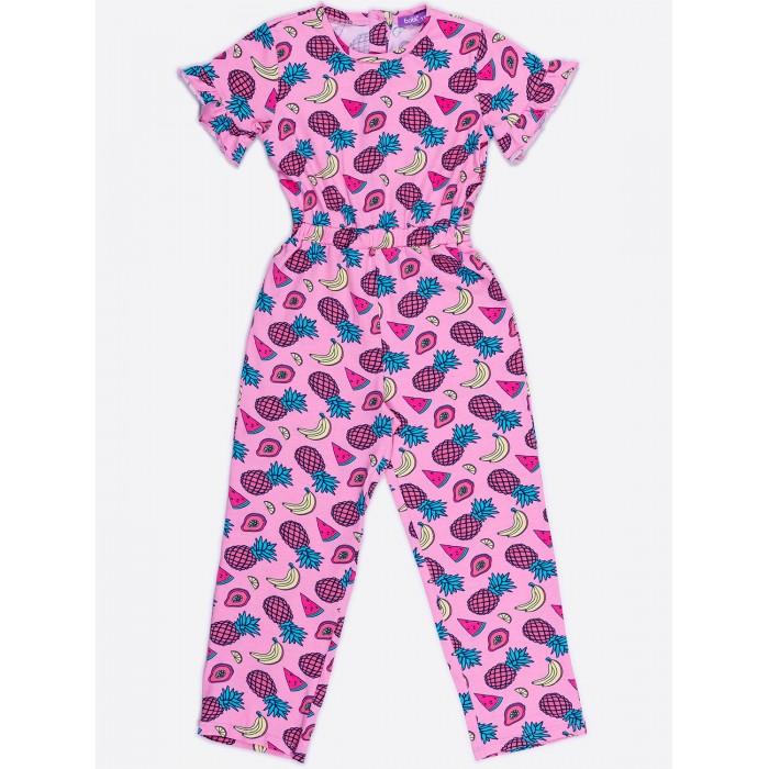Брюки и джинсы Batik Комбинезон для девочки 01119_BAT комбинезон утепленный для девочки batik торопыжка цвет розовый 147 19з размер 86