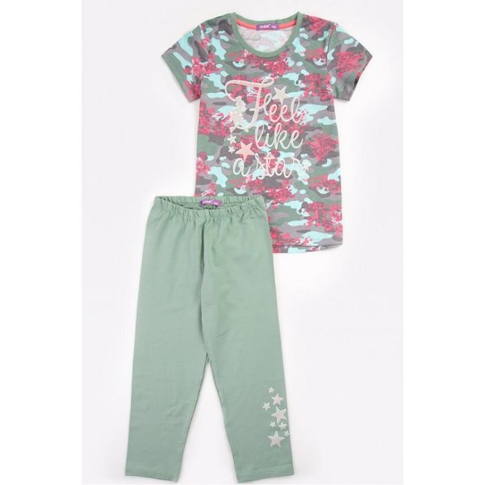 Комплекты детской одежды Batik Комплект для девочки (футболка, бриджи) batik футболка для девочки batik голубой 128