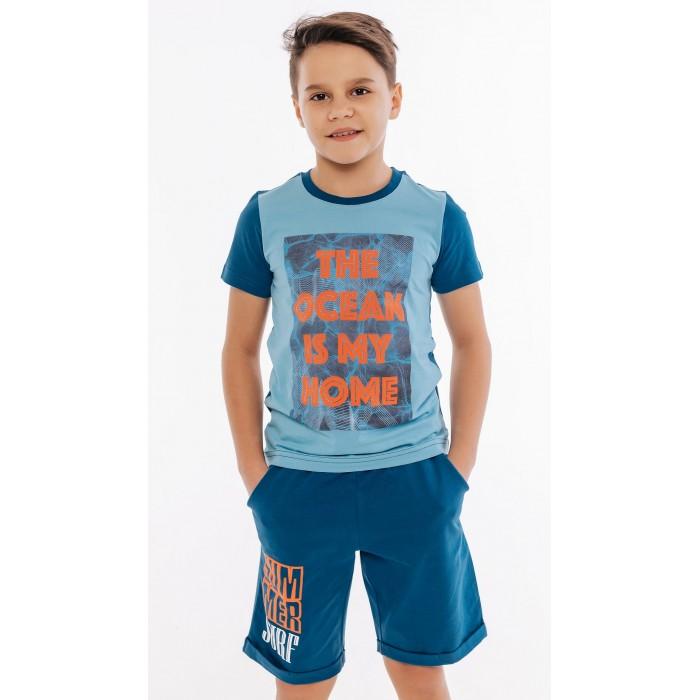 Комплекты детской одежды Batik Комплект для мальчика (футболка, шорты) 01013_BAT комплекты детской одежды elaria комплект для мальчика футболка и шорты bks01 8
