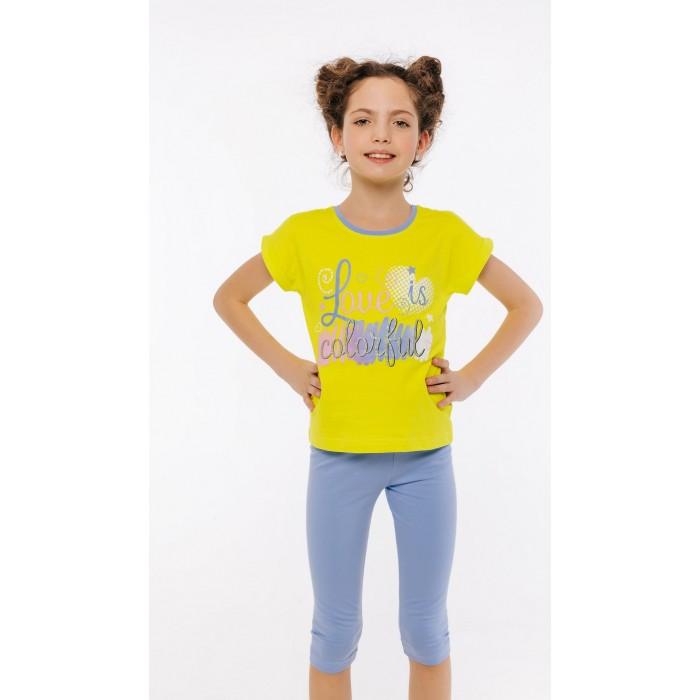 Комплекты детской одежды Batik Костюм для девочки (футболка, бриджи) 01193_BAT batik футболка для девочки batik голубой 128