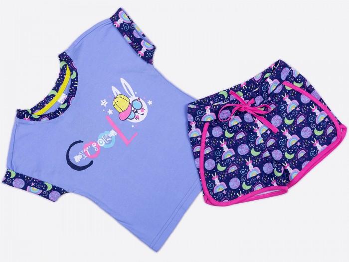 Купить Комплекты детской одежды, Batik Костюм для девочки (футболка, шорты) 01159_BAT