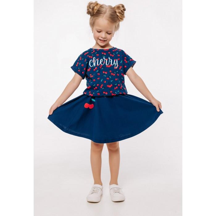 Юбки Batik Костюм для девочки (футболка, юбка) 0112 batik футболка для девочки batik голубой 128