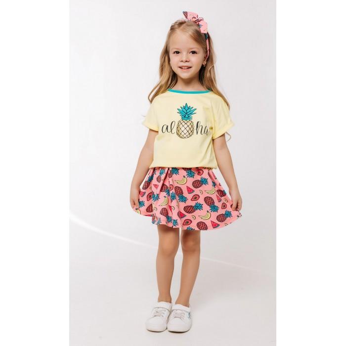 Юбки Batik Костюм для девочки (футболка, юбка) 011 batik футболка для девочки batik голубой 128