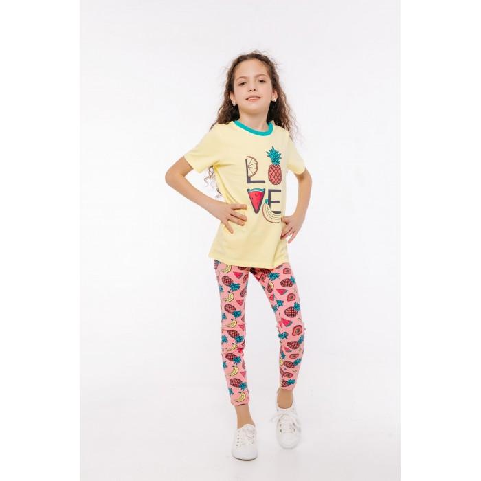 Брюки и джинсы Batik Леггинсы для девочки Фрукты брюки и джинсы playtoday леггинсы для девочки meow 2 шт 398010