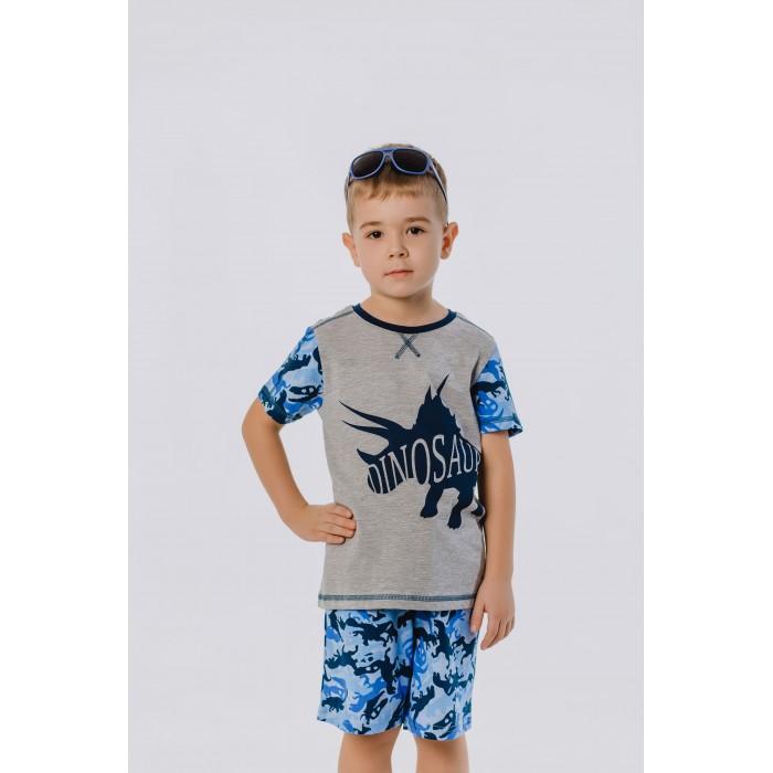 Шорты и бриджи Batik Шорты для мальчика Dinosaur 00860/00861 шорты domyos шорты для гимнастики для мальчиков w900 gym синие оранжевые с принтом