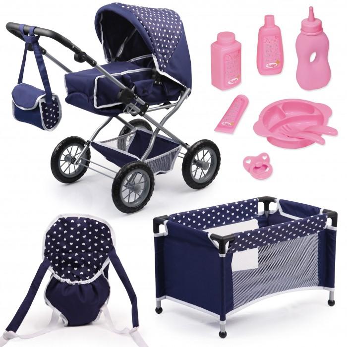 Игровые наборы Bayer Большой набор Combi Grande (коляска, кроватка, переноска, посуда), Игровые наборы - артикул:494361