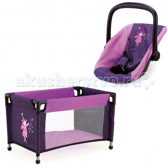 Кроватки для кукол Bayer Набор для кукол (переноска, кроватка) smoby переноска для кукол mc