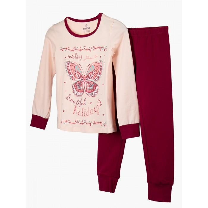 Baykar Пижама для девочки Бабочка N9299