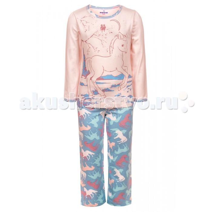 Пижамы и ночные сорочки Baykar Пижама для девочки N9033-5, Пижамы и ночные сорочки - артикул:533586