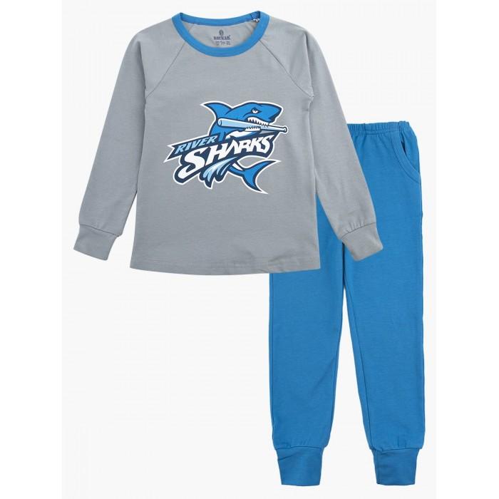 домашняя одежда n o a пижама для мальчика 11432 Домашняя одежда Baykar Пижама для мальчика Акула