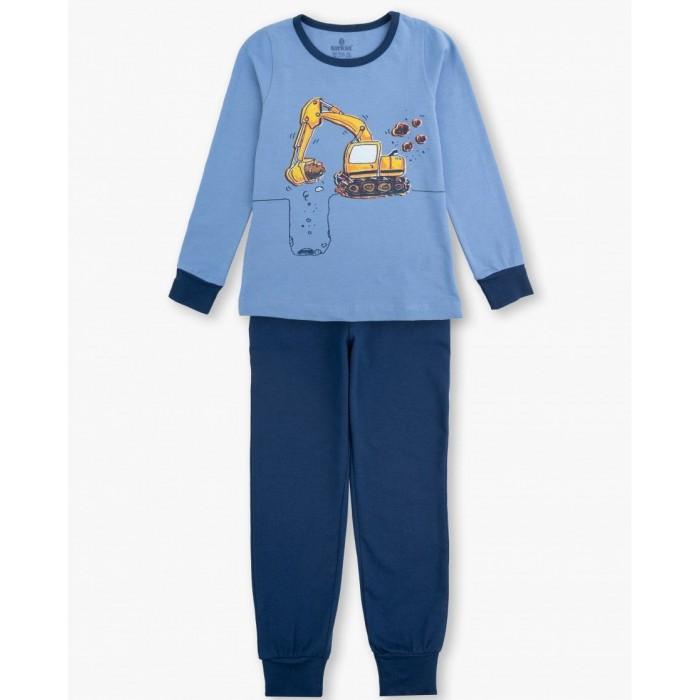Домашняя одежда Baykar Пижама для мальчика Экскаватор