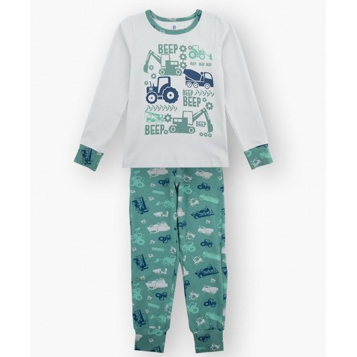 Домашняя одежда Baykar Пижама для мальчика Строительная техника