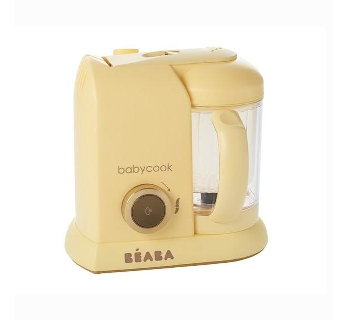 Beaba Блендер-пароварка Babycook MacaronБлендер-пароварка Babycook MacaronБлендер-пароварка Beaba Babycook Macaron предназначена для собственноручного приготовления питательных детских смесей.   Идеально подойдет для родителей, которые хотят достоверно знать, какие именно компоненты входят в питание их малыша.  С этим кухонным прибором процесс приготовления становится максимально легким и быстрым, так как прибор сочетает в себе сразу 4 функции:  приготовление на пару с сохранением витаминов функции блендера, с возможностью регулировки степени измельчения  быстрые подогрев и разморозку. Блендер-пароварка легко моется и занимает мало места на кухне.  Особенности: 4 функции: приготовление на пару, измельчение продуктов, подогревание и размораживание продуктов. Большая емкость: 1100 мл (со шкалой измерений) Время приготовления приблизительно 15 минут Сохраняет витамины и питательные вещества Автоматическое выключение функции В комплект входит:  Книга рецептов (созданные диетологами для детей от 6 до 24 месяцев, 12 рецептов на русском языке) нож для измельчения лопатка паровая корзина для приготовления/разогревания продуктов крышка чаши блендера с фильтром для фруктовых коктейлей. Официальная гарантия: 2 года  Размеры (ВхДхШ) 38 x 25 x 18 см 2 кувшина по 1100 мл<br>