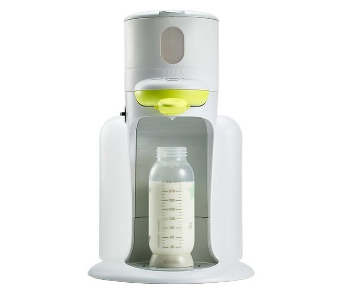 Beaba Подогреватель для бутылочек и баночек 3 в 1 BibexpressoПодогреватель для бутылочек и баночек 3 в 1 BibexpressoТеперь есть возможность разогреть бутылочку несколько секунд и быть уверенной в её температуре. Откройте для себя новый способ подогрева бутылочки: быстро - 30 секунд безопасно - бутылочка всегда нужной температуры благодаря прямому нагреву водой практично - поток воды имеет эффект смешивания порошка и помогает обеспечить более равномерную температуру легко - Вам потребуется только одна рука чтобы разогреть бутылочку  Bibexpresso автоматическая очистка В целях обеспечения полной гигиены, Bibexpresso оснащен системой самоочистки паровой системы для полной очистки устройства.   Машина состоит из контейнера для стерилизации и хранения 3 бутылочек до 300 мл, которая поддерживает нужную температуру. Не нужно покупать стерилизатор, сушку для бутылочек. Так же в комплект входит удобная бутылочка, в которой можно подогреть молоко и баночки с едой. Когда ребенок вырос, машина используется как чайник.  Bibexpresso также может быть превращен в ультра-компактное устройство для подогрева пищевых контейнеров и бутылочек для кормления за счет съемного модуля отопления.  Bibexpresso больше чем еще одно устройство для подогрева бутылочек. Он также укомплектован стерилизатором для микроволновой печи рассчитанным на 3 бутылочки, который может использоваться как контейнер для хранения бутылочек для защиты от попадания света и пыли.  36 х 27 х 24 см  Бутылочки в комплект не входят!<br>
