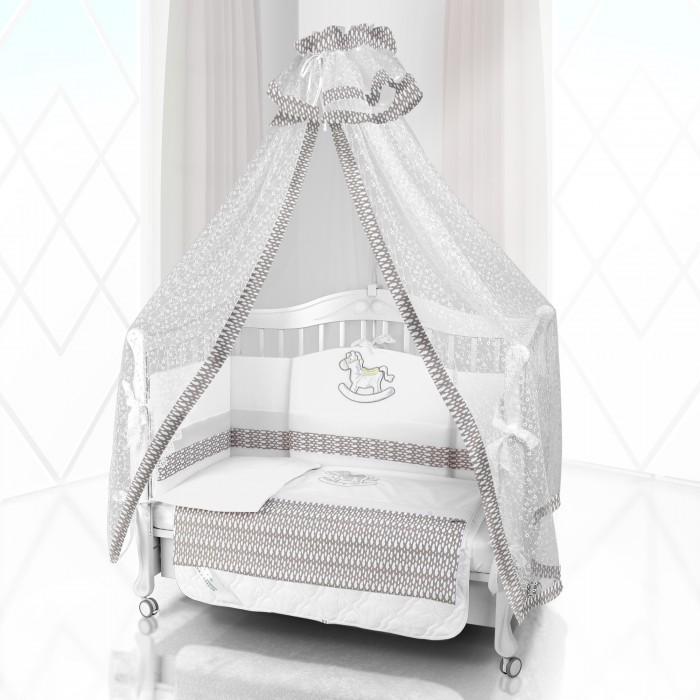 Картинка для Комплект в кроватку Beatrice Bambini Unico IL Cavallo Nuvole 125х65 (6 предметов)