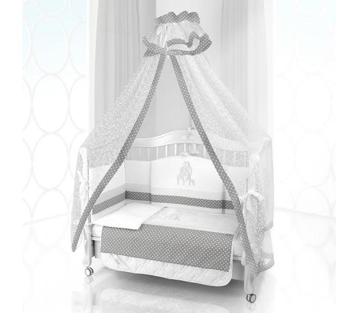 Комплект в кроватку Beatrice Bambini Unico Punto Di Giraffa 120х60 (6 предметов)