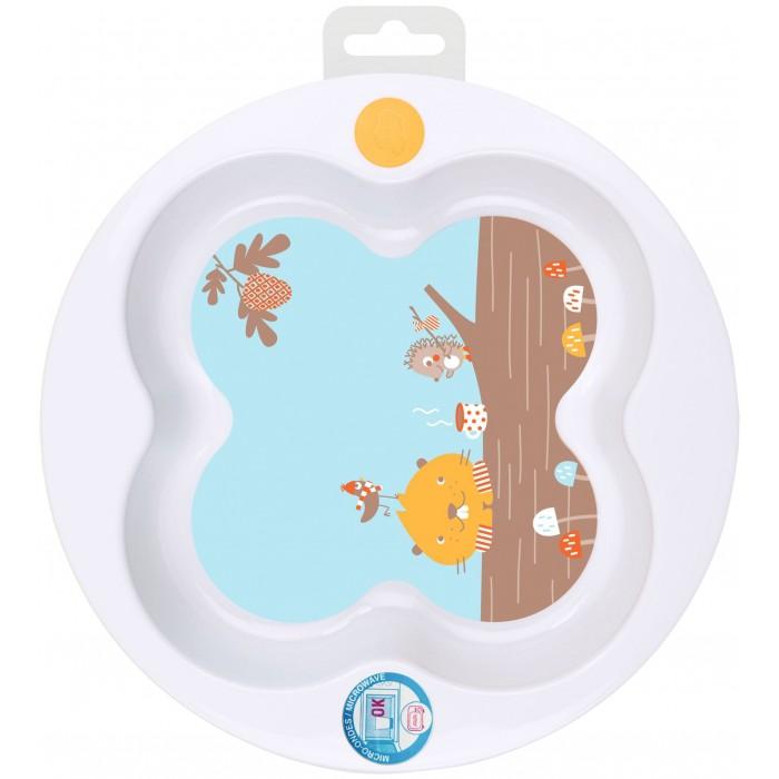 Посуда Bebe Confort Герметичная тарелка Woodcamp с крышкой в форме клевера, Посуда - артикул:553891